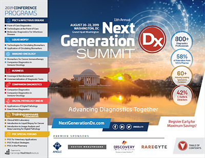 2019 Next Generation Dx Summit Brochure