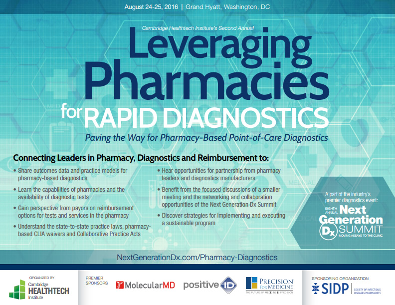 Leveraging Pharmacies for Rapid Diagnostics Brochure